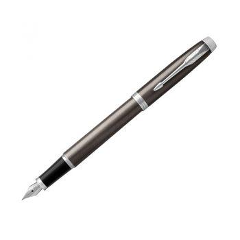 Parker派克钢笔IM金属灰白夹墨水笔