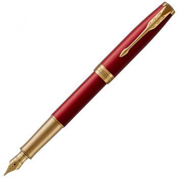 派克(PARKER)卓尔系列 - 宝石红金夹钢笔