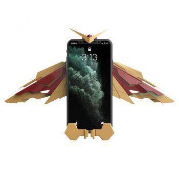元兔 钢铁之翼 天使翅膀 车载自动感应 无线充电器
