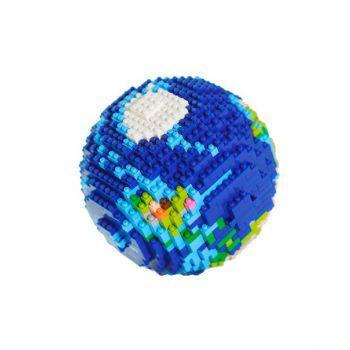 AstroReality 3D拼装像素地球