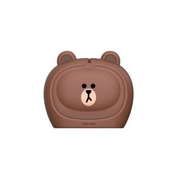 井井标记 LINE FRIENDS联名 团子小型标签机 布朗熊