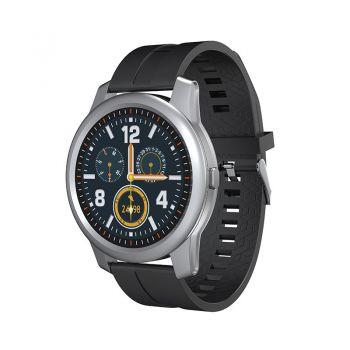 循行电子手表 硅胶表带—黑色